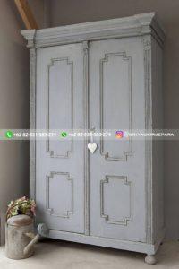 lemari pakaian jati modern 10 200x300 - 20+ Model Lemari Pakaian Jati Pintu 2