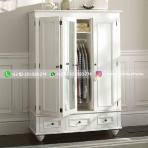 lemari pakaian jati modern 14 300x300 - 20+ Model Lemari Pakaian Jati Terbaru 2020