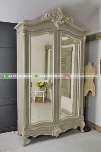 lemari pakaian jati modern 19 200x300 - 20+ Model Lemari Pakaian Jati Pintu 2