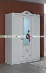 lemari pakaian jati modern 2 191x300 - 20+ Model Lemari Pakaian Jati Terbaru 2020