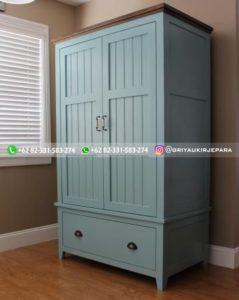 lemari pakaian jati modern 22 239x300 - 20+ Model Lemari Pakaian Jati Pintu 2