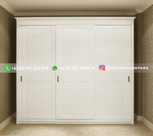 lemari pakaian jati modern 38 300x267 - 20+ Model Lemari Pakaian Jati Terbaru 2020