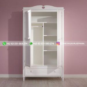 lemari pakaian jati modern 6 300x300 - 20+ Model Lemari Pakaian Jati Pintu 2