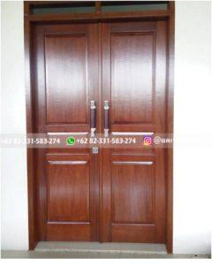 Kusen Pintu Jati Jepara 102 240x300 - 7 Model Pintu Jati Kupu Tarung Minimalis Mewah