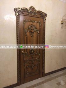 Kusen Pintu Jati Jepara 103 225x300 - 10+ Model Pintu Kamar Kayu Jati