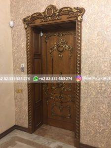 Kusen Pintu Jati Jepara 105 225x300 - 10+ Model Pintu Kamar Kayu Jati