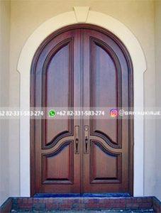 Kusen Pintu Jati Jepara 109 227x300 - 17+Model Pintu Rumah Lengkung