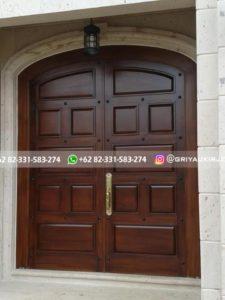 Kusen Pintu Jati Jepara 11 225x300 - 17+Model Pintu Rumah Lengkung
