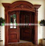 Pintu Rumah Pintu Utama Jati Mewah