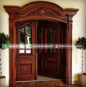 Kusen Pintu Jati Jepara 110 295x300 - Pintu Rumah Pintu Utama Jati Mewah