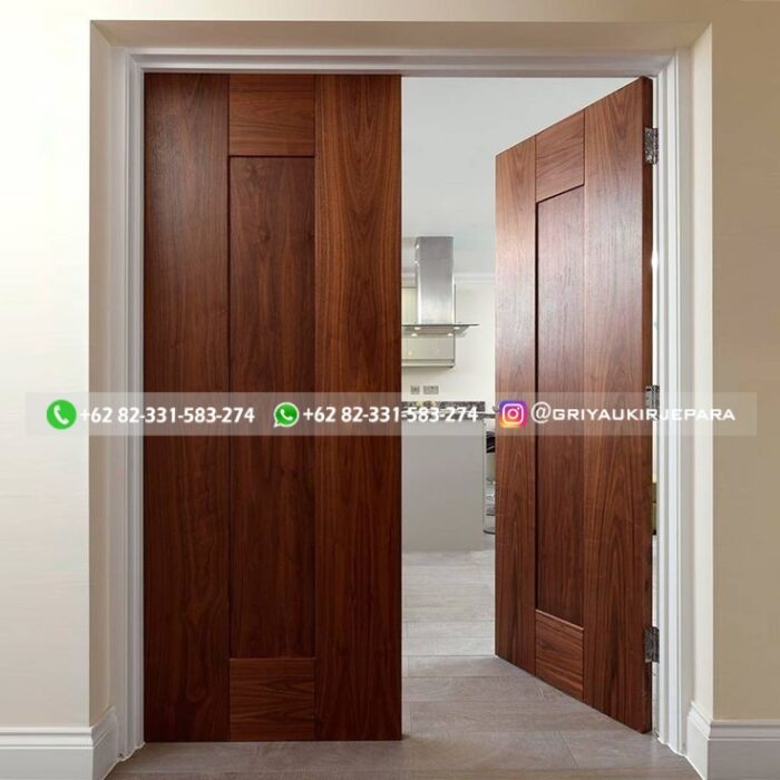 7 Model Pintu Kayu Jati Kupu Tarung Furniture Jati Jepara