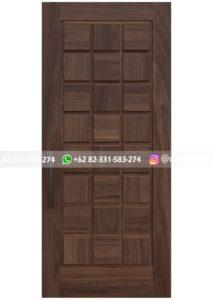 Pintu Jati Minimalis Panel Kotak Mewah