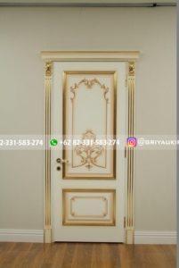 Pintu Rumah Kayu Jati Klasik Mewah