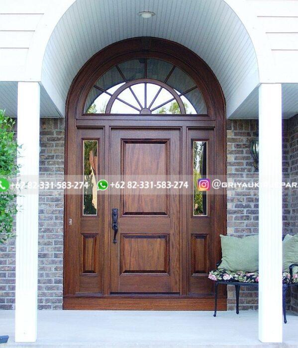 Kusen Pintu Jati Jepara 126 - 17+Model Pintu Rumah Lengkung