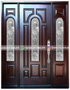 Kusen Pintu Jati Jepara 132 232x300 - Pintu Jati Pintu Utama Pintu Kamar Jati