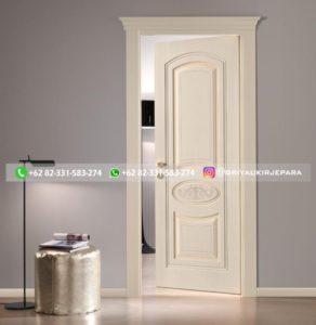 Kusen Pintu Jati Jepara 15 292x300 - Pintu Kamar Pintu Rumah Kayu Jati Warna Putih Minimalis