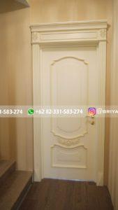 Kusen Pintu Jati Jepara 40 169x300 - Pintu Kamar Pintu Rumah Kayu Jati Warna Putih Minimalis