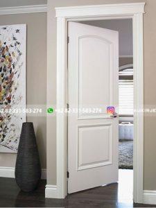 Kusen Pintu Jati Jepara 48 225x300 - Pintu Kamar Pintu Rumah Kayu Jati Warna Putih Minimalis