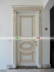 Kusen Pintu Jati Jepara 55 225x300 - Pintu Kamar Pintu Rumah Kayu Jati Warna Putih