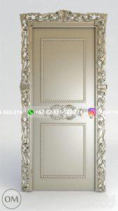 Kusen Pintu Jati Jepara 57 168x300 - Pintu Kamar Pintu Rumah Kayu Jati Warna Putih