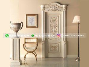 Kusen Pintu Jati Jepara 69 300x225 - Pintu Kamar Pintu Rumah Kayu Jati Warna Putih