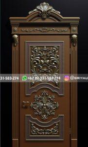 Kusen Pintu Jati Jepara 70 181x300 - 10+ Model Pintu Kamar Kayu Jati