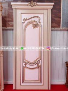Kusen Pintu Jati Jepara 77 225x300 - Pintu Kamar Pintu Rumah Kayu Jati Warna Putih