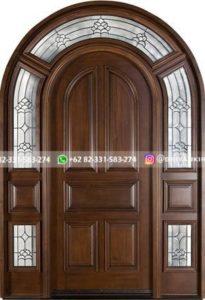 Kusen Pintu Jati Jepara 83 205x300 - 17+Model Pintu Rumah Lengkung