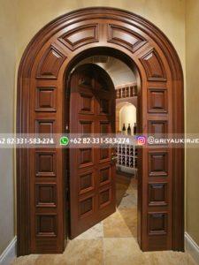 Kusen Pintu Jati Jepara 86 225x300 - 17+Model Pintu Rumah Lengkung