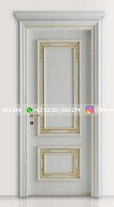 Kusen Pintu Jati Jepara 93 165x300 - Pintu Kamar Pintu Rumah Kayu Jati Warna Putih Minimalis