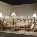 Sofa Ruang Tamu Mewah Jati Barocco
