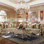 Sofa Ruang Tamu Jati Ukiran klasik Balerina