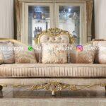 Sofa Ruang Tamu Jati Angelo Gold