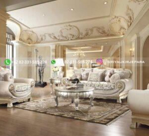 Sofa Ruang tamu Jati Mewah Renato Delara