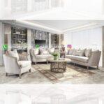 Sofa Ruang Tamu Jati Mewah Habibie