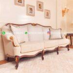Sofa Ruang Tamu Jati Mewah Renzo Barbera