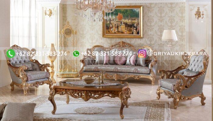 Sofa Ruang Tamu Jati Mario Rigamonti
