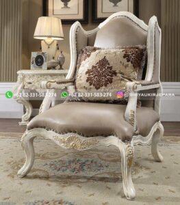 sofa ruang tamu jati mewah Friulli 1 263x300 - 10+ Sofa Wingchair Sofa 1 Dudukan Jati