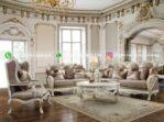 Sofa Ruang Tamu Jati Mewah Friulli