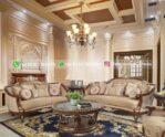 Sofa Ruang Tamu Jati Meazza
