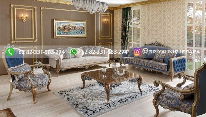 Sofa Ruang Tamu Jati Alberto Biglia