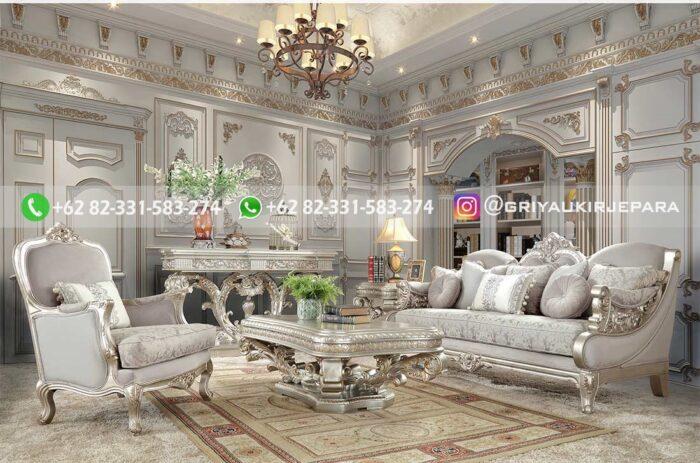 Sofa Ruang Tamu Jati Liberti
