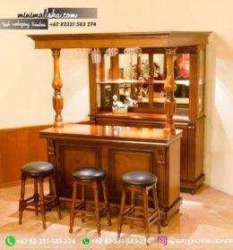 Meja Mini Bar Minimalis Kode 118