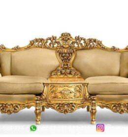 Sofa Ruang Tamu Jati Mewah Kode 102