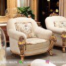 Sofa Ruang Tamu Jati Mewah Kode 103