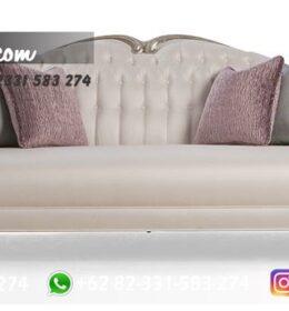 Sofa Ruang Tamu Jati Mewah Kode 109