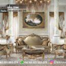 Sofa Ruang Tamu Jati Mewah Kode 112