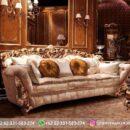 Sofa Ruang Tamu Jati Mewah Kode 115