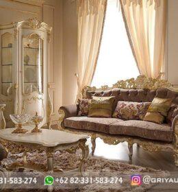 Sofa Ruang Tamu Jati Mewah Kode 117 (2)