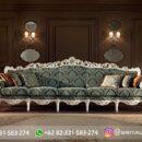 Sofa Ruang Tamu Jati Mewah Kode 118